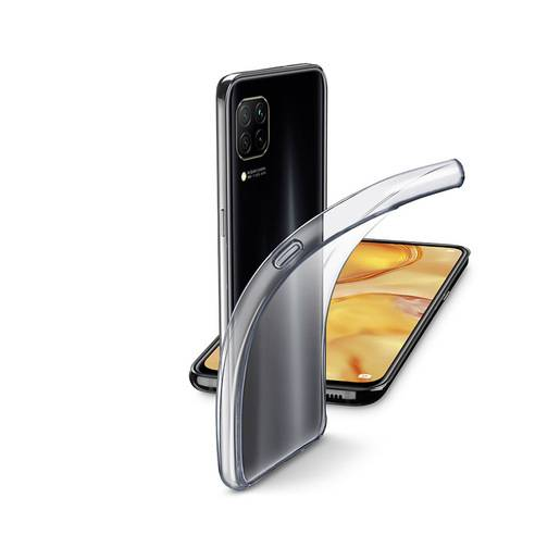 Cellular Line Fine - P40 Lite Cover in gomma morbida ultra sottile e tr