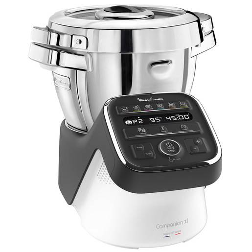 moulinex hf809 companion xl, robot da cucina multifunzione, 12 program