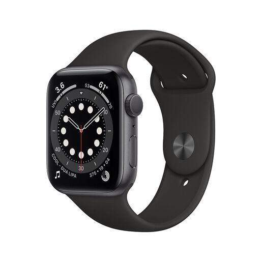 Apple Watch Serie 6 GPS, 44mm in alluminio grigio siderale con cinturi