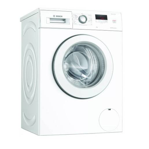 Bosch Serie 2 lavatrice Libera installazione Caricamento frontale 8 kg