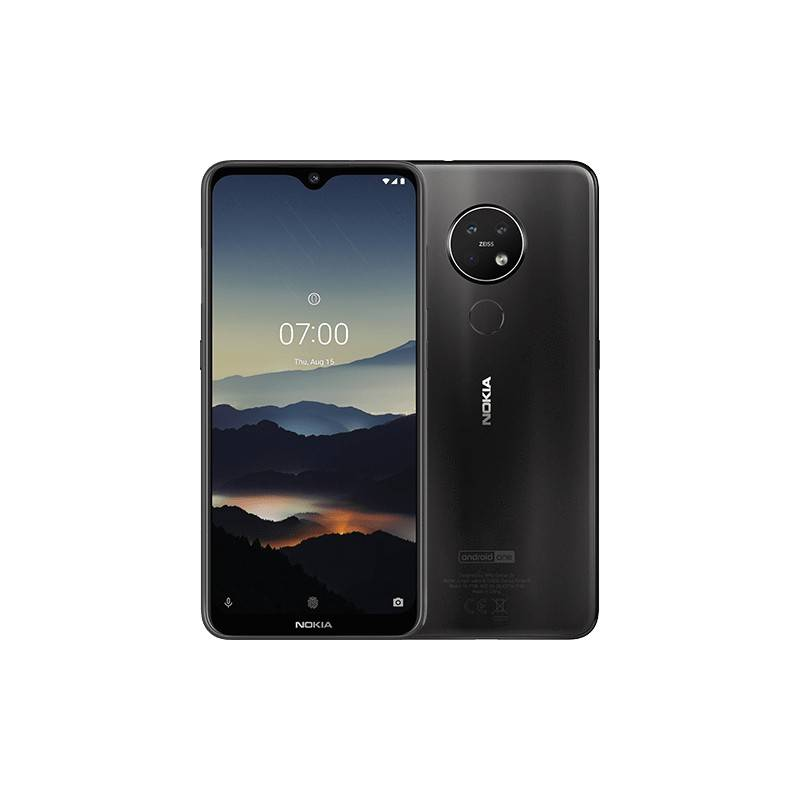 nokia 7.2 16 cm (6.3) doppia sim android 9.0 4g usb tipo-c 4 gb 64 gb 3500 mah antracite