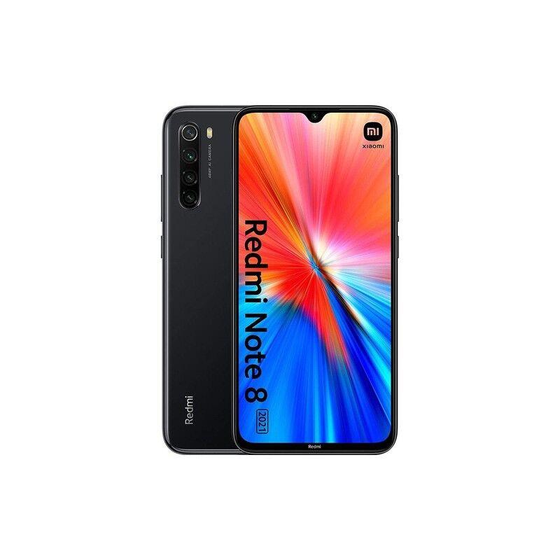 """Xiaomi Redmi Note 8 2021 16 Cm (6.3"""") Doppia Sim Miui 12.5 4g Usb Tipo-C 4 Gb 64 Gb 4000 Mah Nero"""