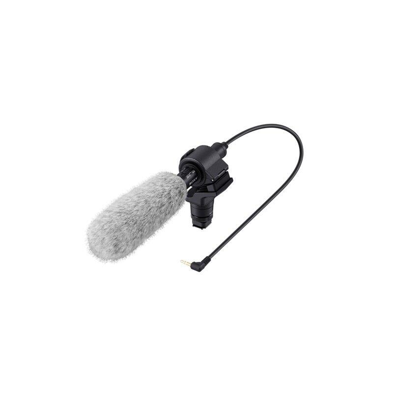 sony ecm-cg60 nero, grigio microfono per fotocamera digitale