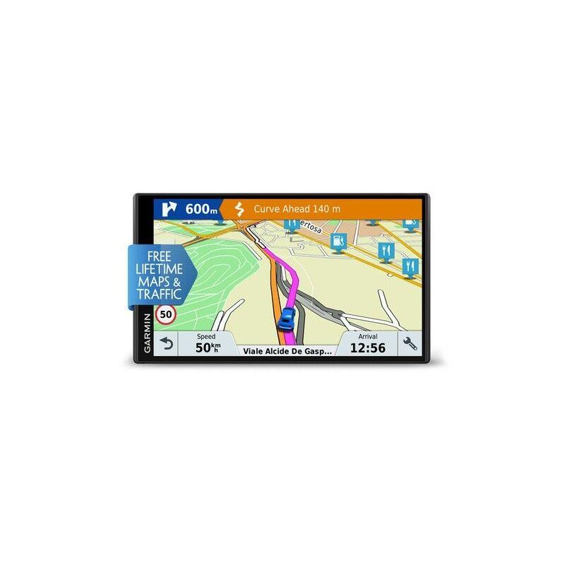 "Garmin Drivesmart 61 Lmt-D Navigatore Fisso 17,6 Cm (6.95"") Tft Touch Screen 243 G Nero (010-01681-23)"