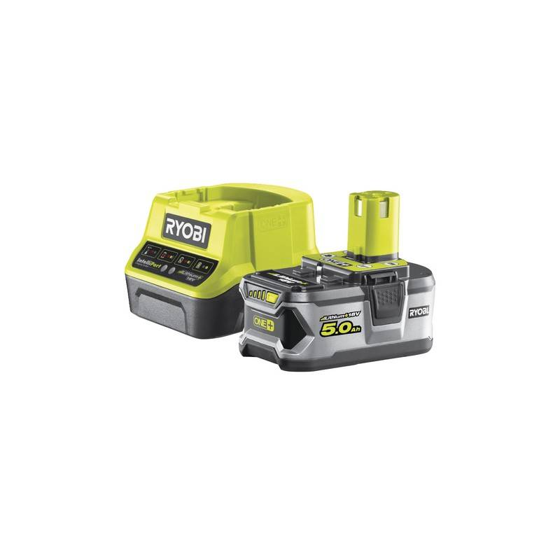 ryobi rc18120-150 set batteria e caricabatterie