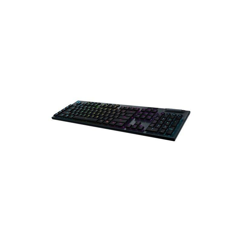 logitech g g915 lightspeed- gl tactile tastiera rf senza fili + bluetooth qwertz tedesco nero