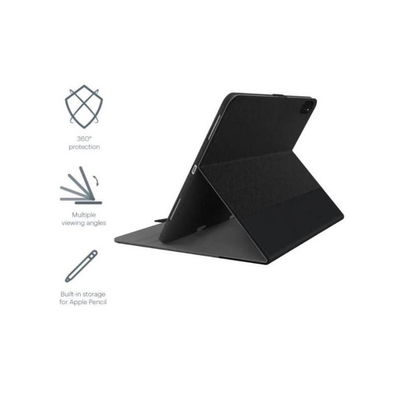 Cygnett Tekview With Apple Pencil Holder Bk
