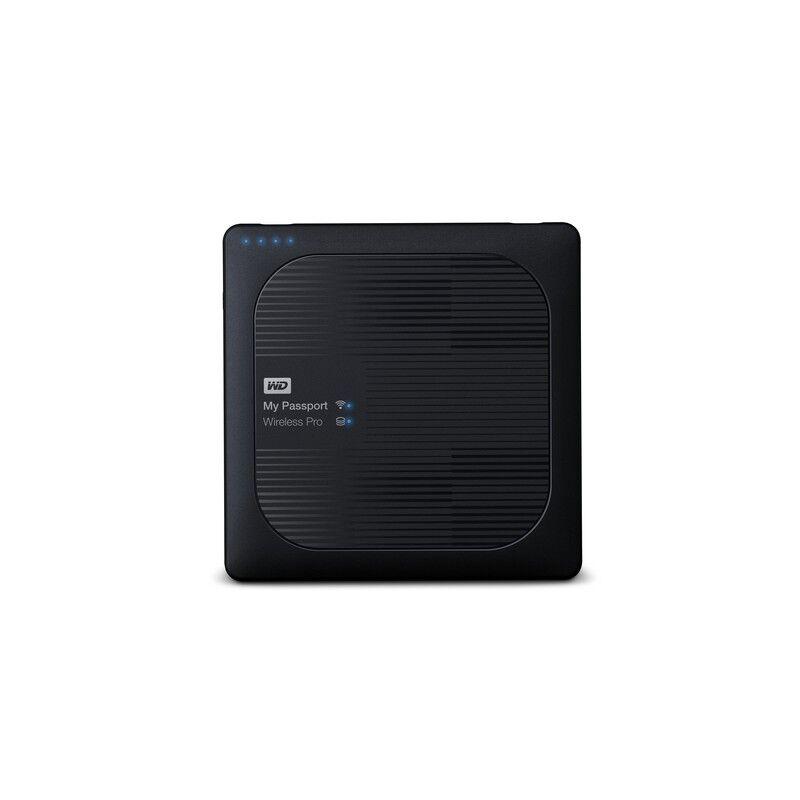 western digital my passport wireless pro disco rigido esterno wi-fi 1000 gb nero