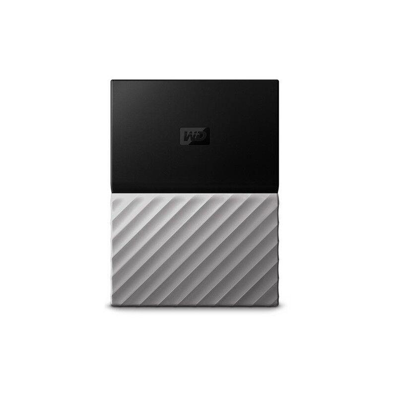 western digital my passport ultra disco rigido esterno 3000 gb nero, grigio