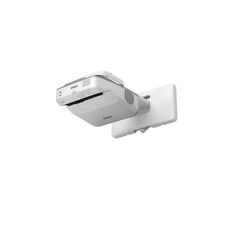 epson eb-670 videoproiettore proiettore a raggio ultra corto 3100 ansi lumen 3lcd xga (1024x768) grigio, bianco