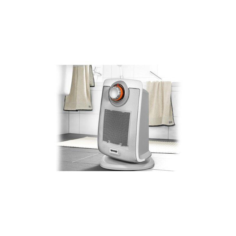 Unold 86440 Stufetta Elettrica Bianco 2000 W Riscaldatore Ambiente Elettrico Con Ventilatore
