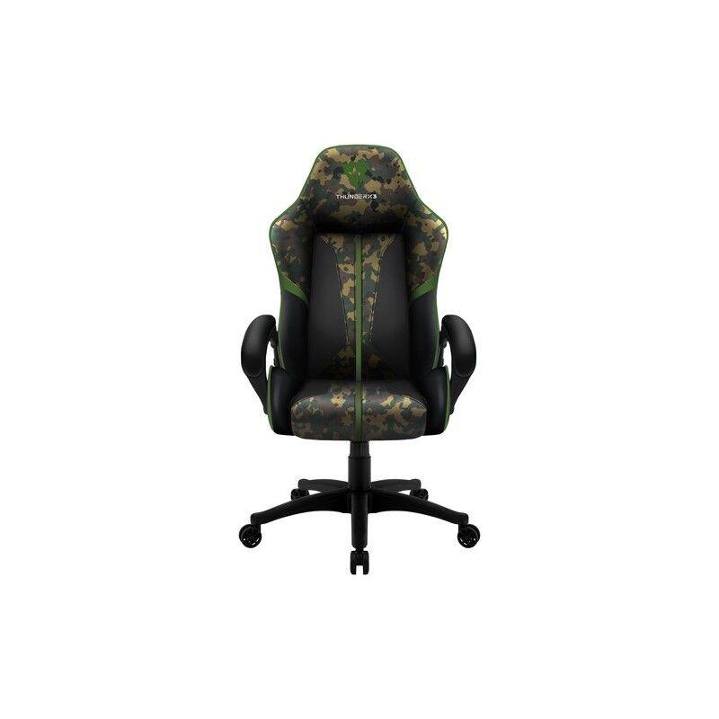 thunderx3 bc1 camo sedia per gaming universale mimetico, verde