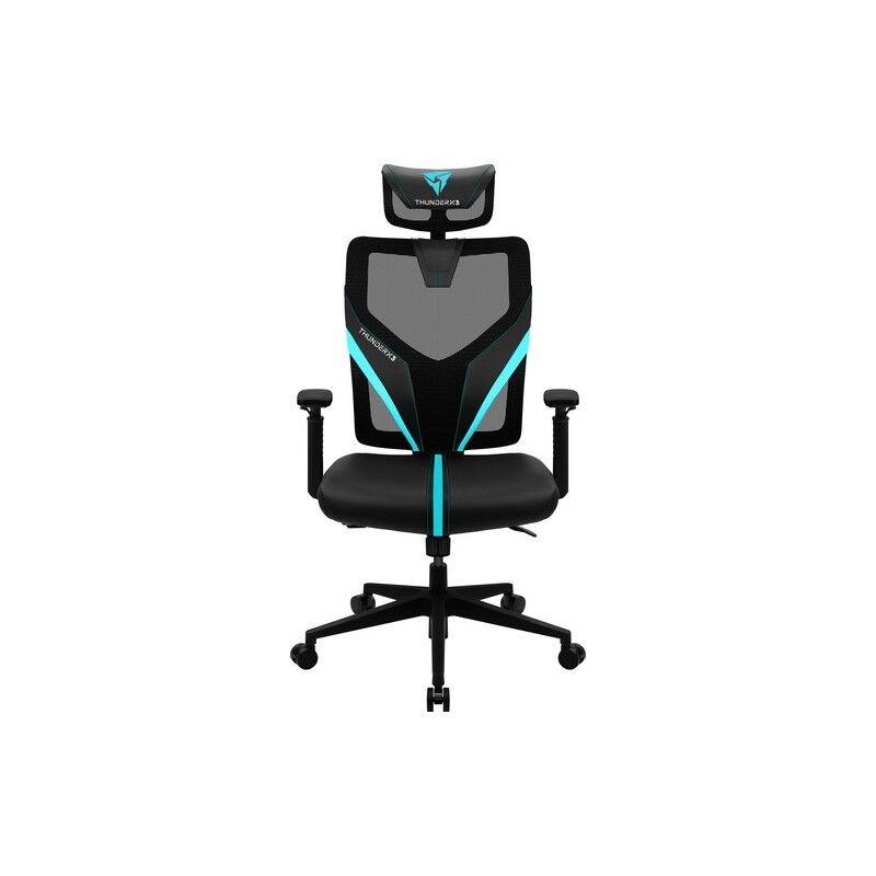 thunderx3 yama1 sedia per gaming universale nero, blu