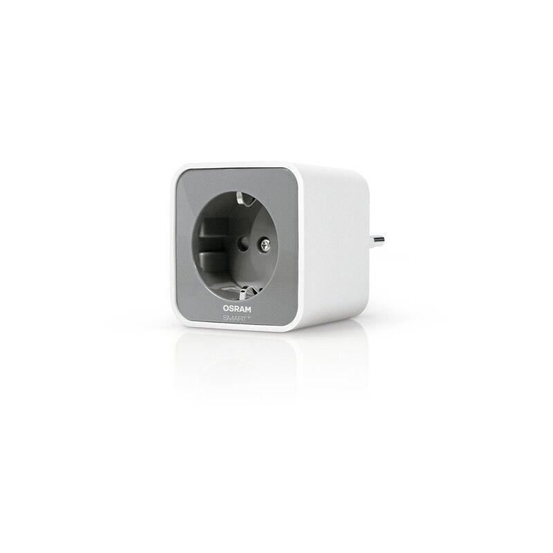 osram smart+ presa intelligente 3680 w grigio, bianco