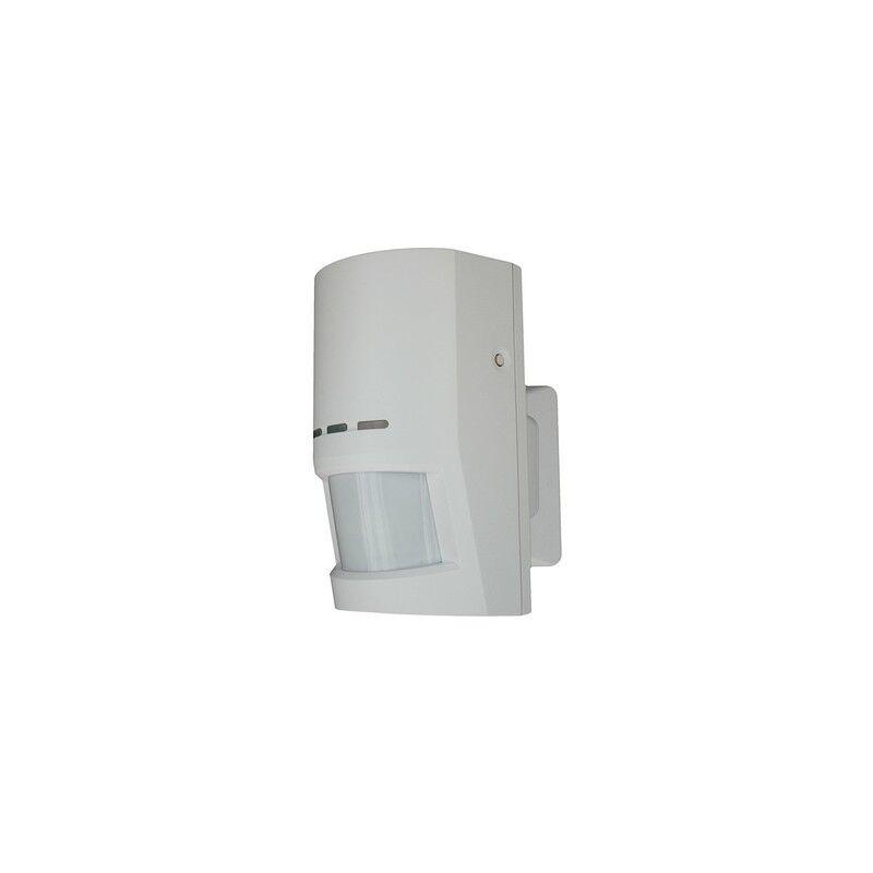 lupus electronics 12034 rilevatore di movimento sensore infrarosso passivo (pir)/microonde senza fili parete bianco
