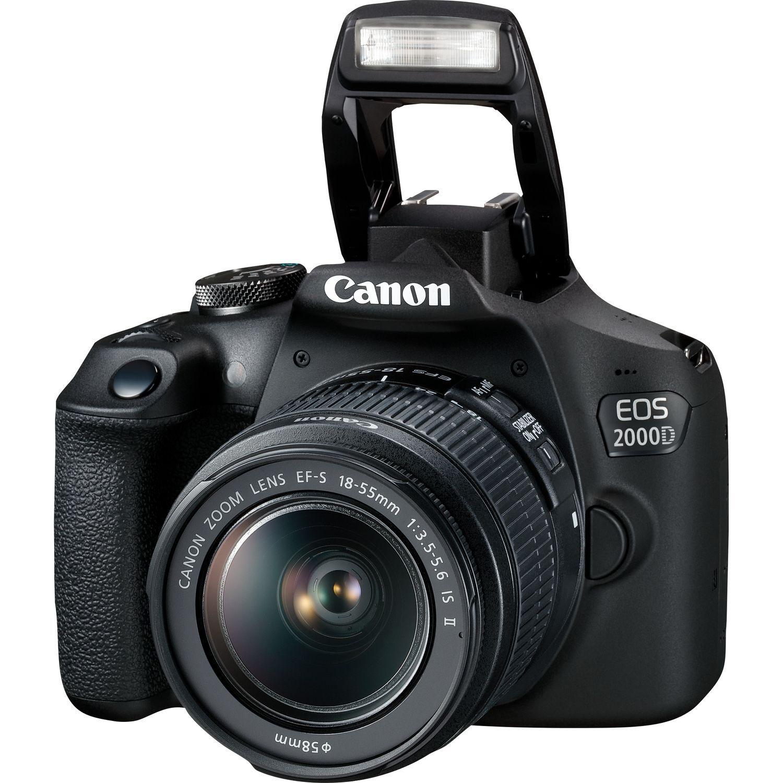 canon eos 2000d + 18-55mm is ii - 4 anni di garanzia