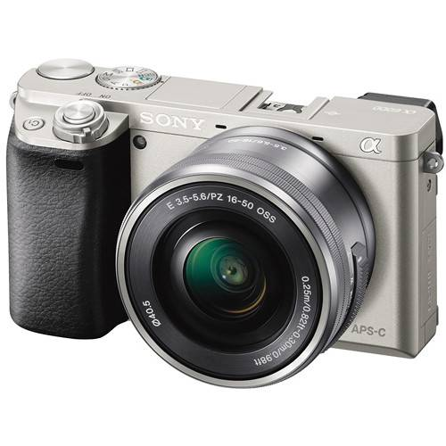 Sony Alpha A6000 + 16-50mm - Argento - 4 Anni Di Garanzia
