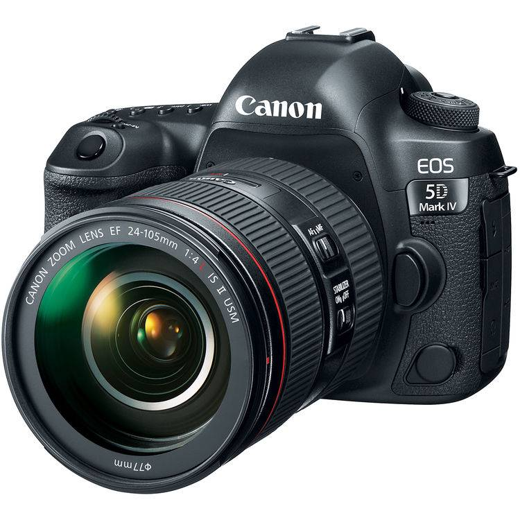 Canon Eos 5d Mark Iv + Ef 24-105mm F/4 L Is Ii Usm - 4 Anni Di Garanzia In Italia