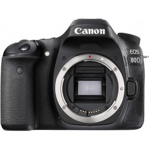 Canon Eos 80d - Corpo - 2 Anni Di Garanzia In Italia