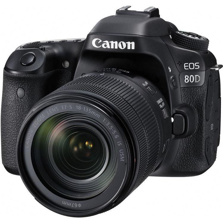 Canon Eos 80d + 18-135mm Is Usm - 4 Anni Di Gar. In Italia