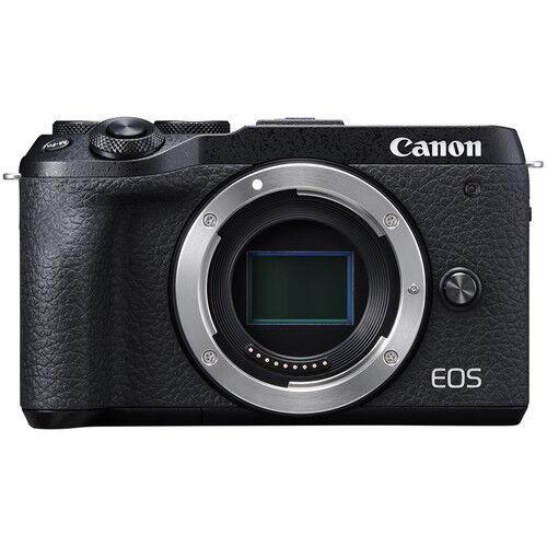 Canon Eos M6 Mark Ii - Corpo - Nera - 4 Anni Di Garanzia In Italia