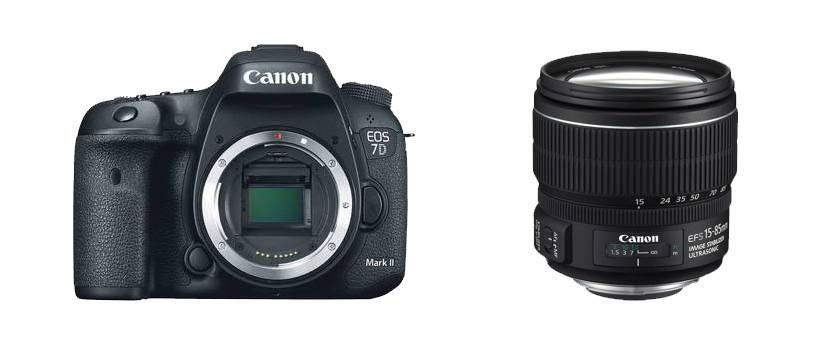 Canon Eos 7d Mark Ii + 15-85mm Is Usm - 2 Anni Di Garanzia