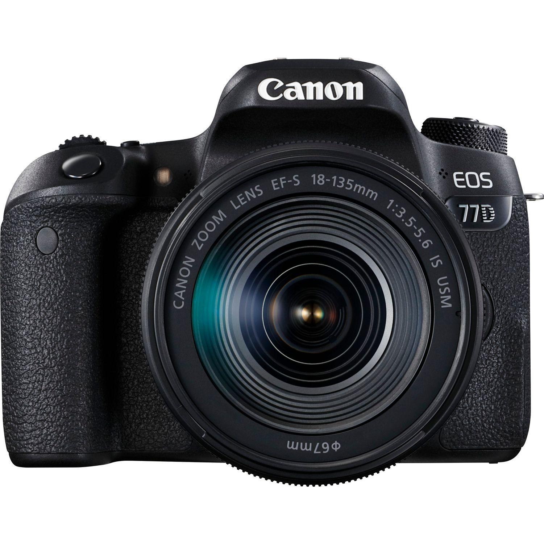 Canon Eos 77d + 18-135mm Is Usm - 4 Anni Di Garanzia In Italia