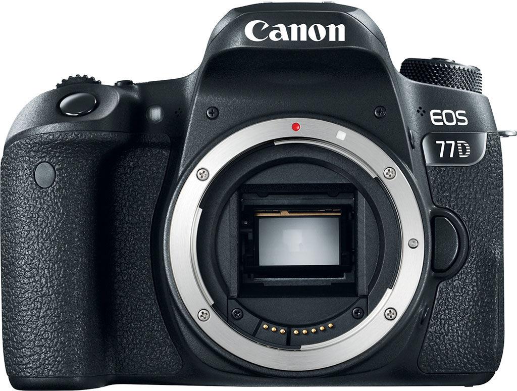 Canon Eos 77d - Solo Corpo - 2 Anni Di Garanzia In Italia