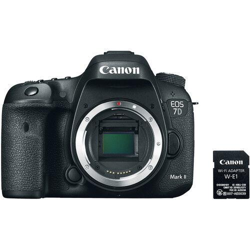 Canon Eos 7d Mark Ii + W-E1 Adapter Wifi - 4 Anni Di Garanzia In Italia