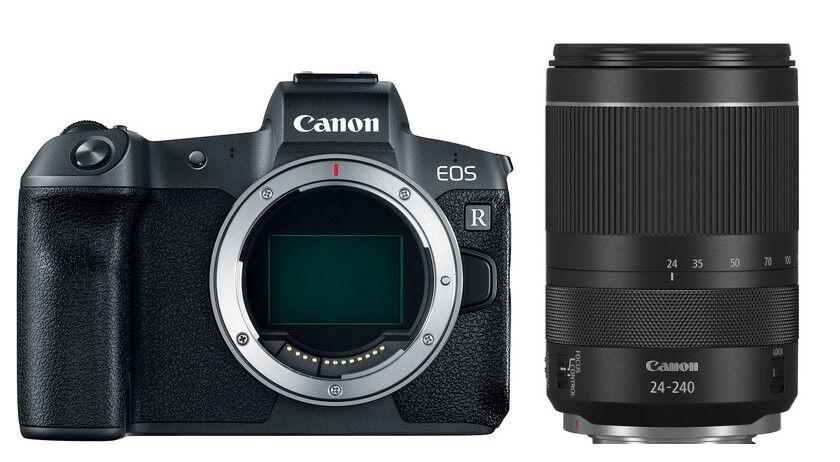 Canon Eos R + Rf 24-240mm F/4-6.3 Is Usm - 4 Anni Di Garanzia In Italia