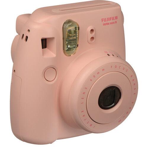 Fujifilm Instax Mini8 - Rosa - Fotocamera A Pellicola Istantanea - 2 Anni Di Garanzia