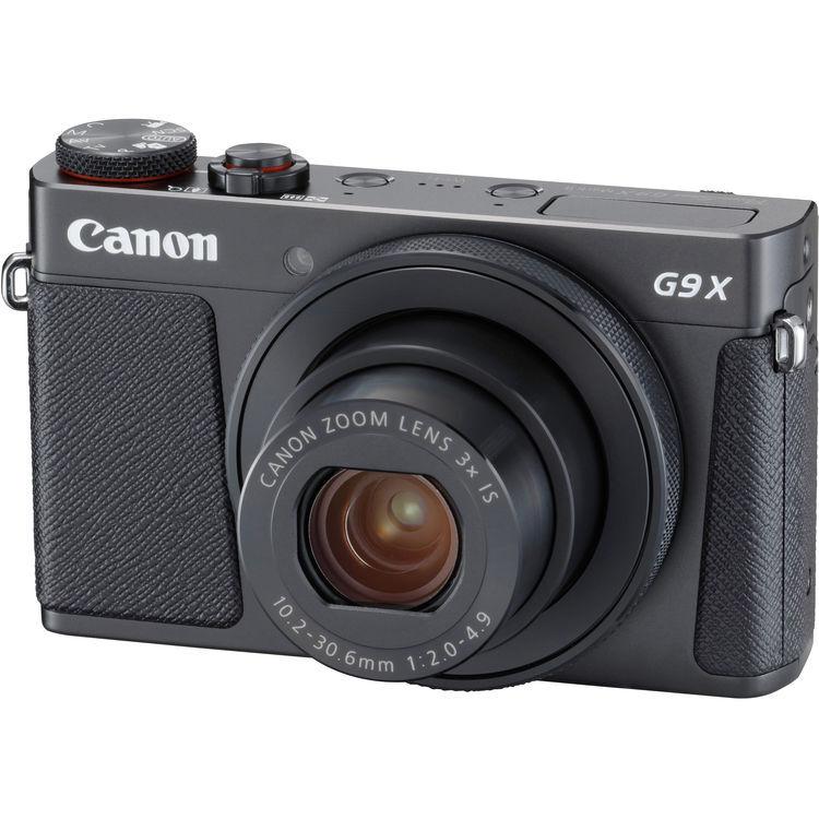 Canon Powershot G9 X Mark Ii - Nera - 2 Anni Di Garanzia In Italia