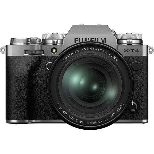 Fujifilm X-T4 + 16-80mm F/4 - Argento - 2 Anni Di Garanzia In Italia