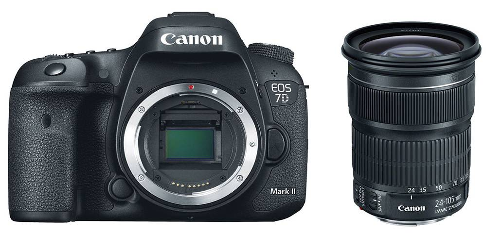 Canon Eos 7d Mark Ii + 24-105mm Is Stm - 4 Anni Di Garanzia