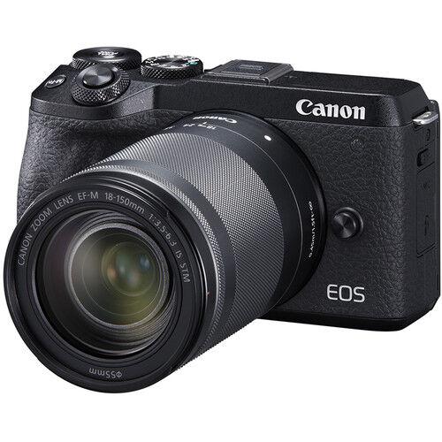Canon Eos M6 Mark Ii + Ef-M 18-150mm Is Stm - Nera - 4 Anni Di Garanzia In Italia