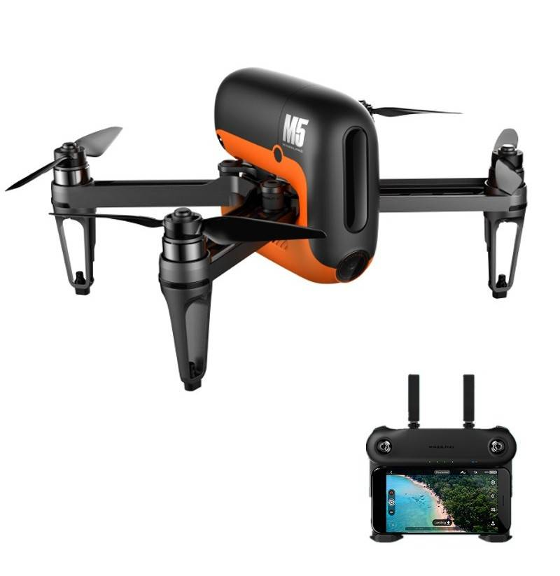 Wingsland M5 Brushless GPS WIFI FPV con 720P Fotocamera RC Drone Quadricottero RTF (Mode: Mode 2 (Left Hand Throttle))
