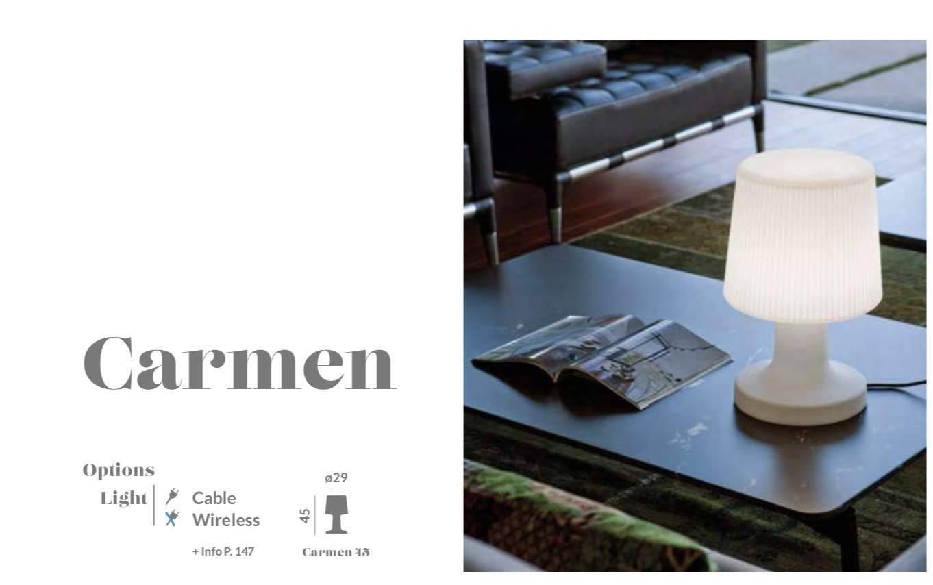 New Garden Carmen 45 Lampada Battery Cm 45 Diametro Cm 29