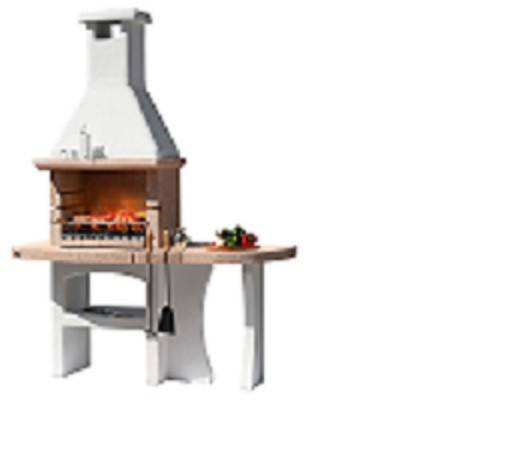 Barbecue In Muratura Mod.Dubai Crystal In Cemento Cod. 2343