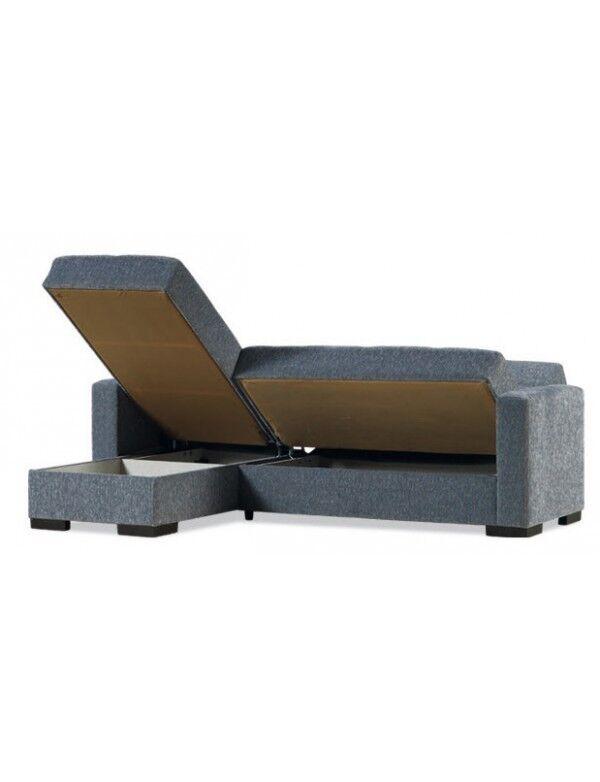 Divano Prontoletto Modello Merlin Corner Ad Angolo Colore Beige Cod: 94854
