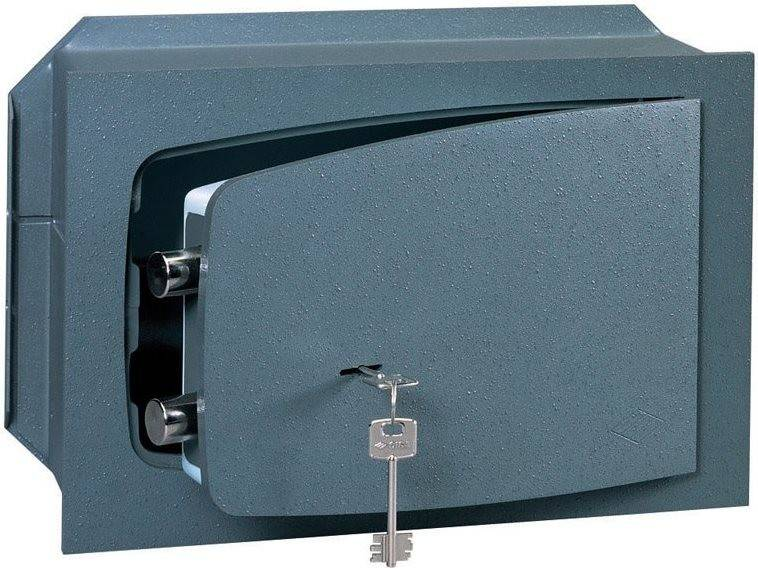 Cassaforte Meccanica A Muro Cm 42x30x19h Spessore Sportello 8 Mm Con Chiave