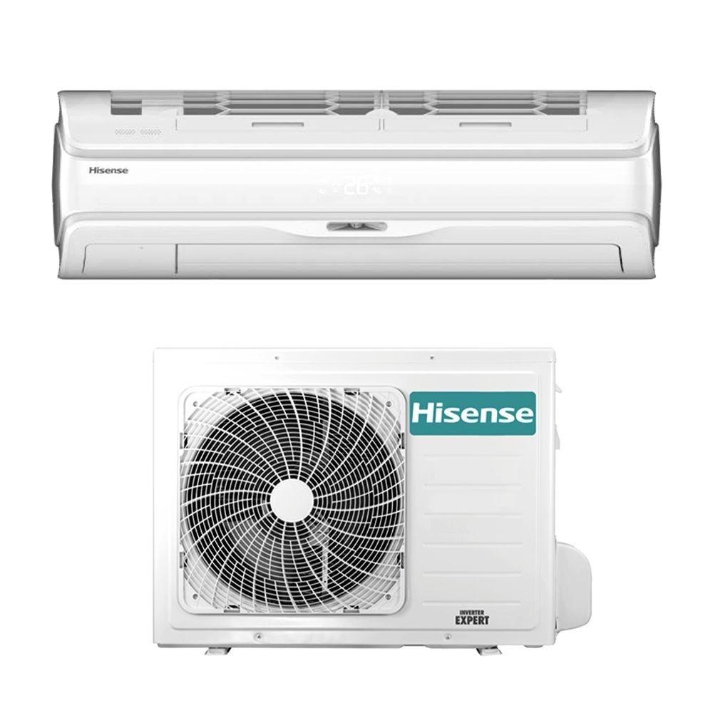 hisense climatizzatore condizionatore hisense serie silentium pro qd35xu0 da 12000 btu in a+++ gas r32 wi fi - new model