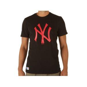 New Era New York Yankees Black Seasonal Team Loog Tee