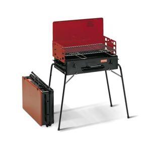 Ferraboli Barbecue a carbonella da pic nic Ferraboli mod. Tornado rosso