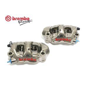 Brembo Kit Coppia Pinze Freno Radiali Brembo Racing 108mm Monoblocco Cnc Gp4-Pr