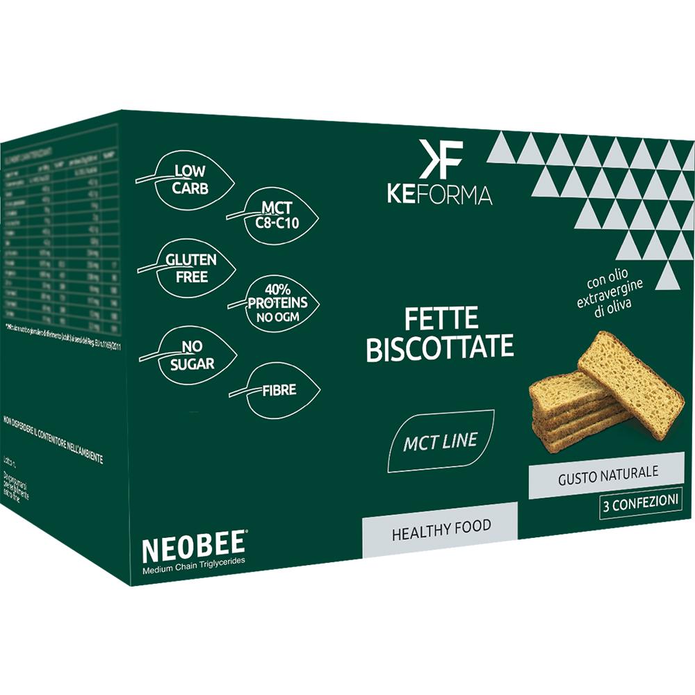 Keforma Mct Fette Biscottate