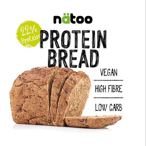 Natoo Protein Bread 365g - Pane Proteico A Fette