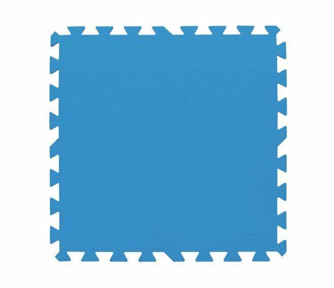 bestway tappeto protettivo sotto piscina 50x50 cm. 8 pz. 58220