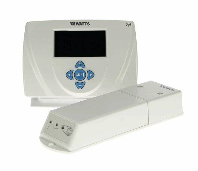 Watts CRONOTERMOSTATO AMBIENTE ELETTRONICO DIGITALE MILUX 2 RF WEEKLY P06585