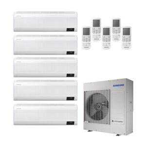 Samsung Condizionatore  Windfree Avant Penta Split 7000+9000+9000+18000+18000 Btu Inverter R32 Aj100 A++/a+ Wifi
