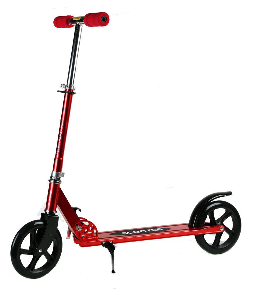 odg monopattino per bambini ragazzi alluminio max 85kg richiudibile ruote grandi